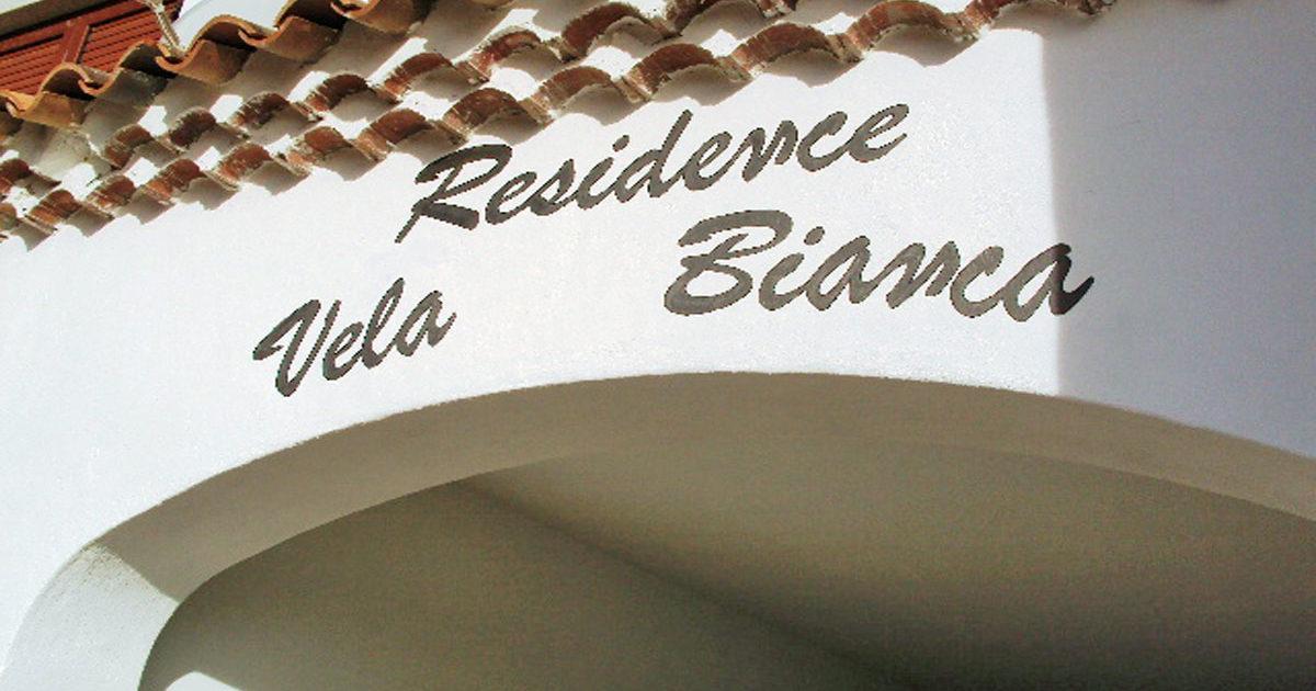 ingresso residence vela bianca