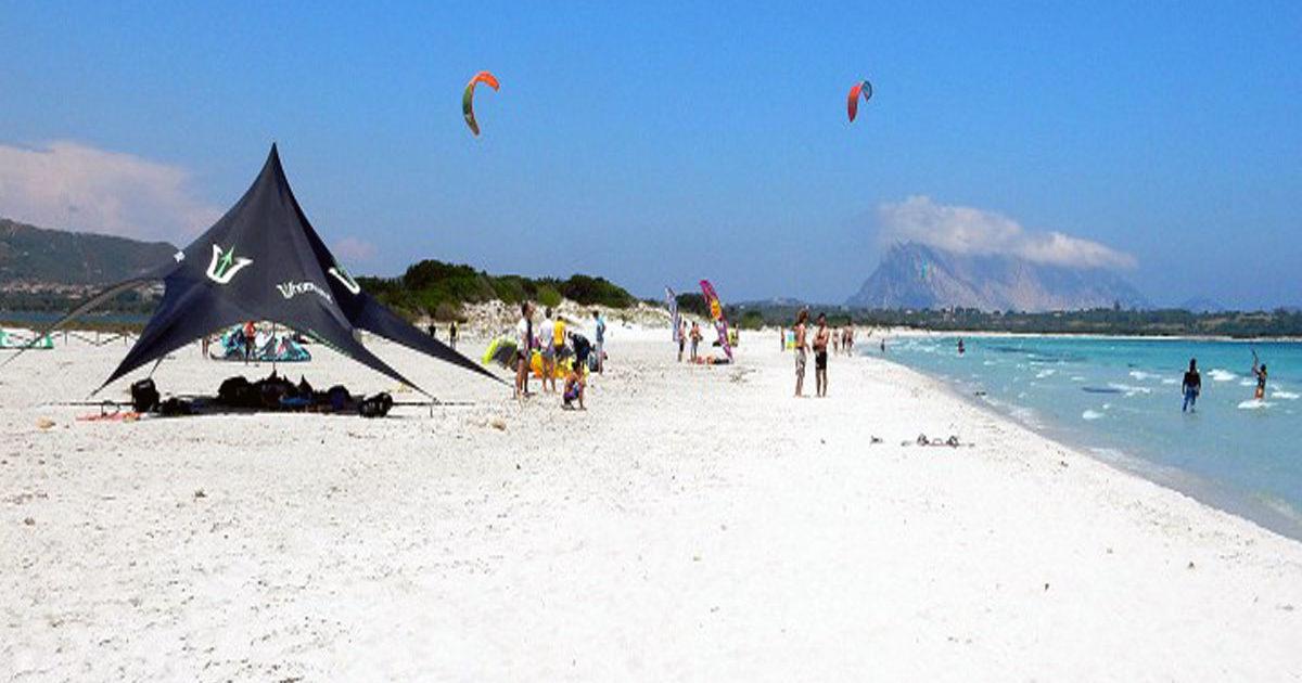 kite-surf alla cinta