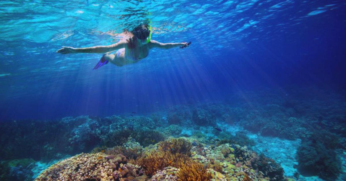 Isuledda sott'acqua