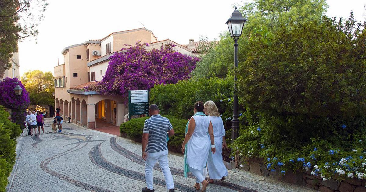 vialetto di Porto Rotondo