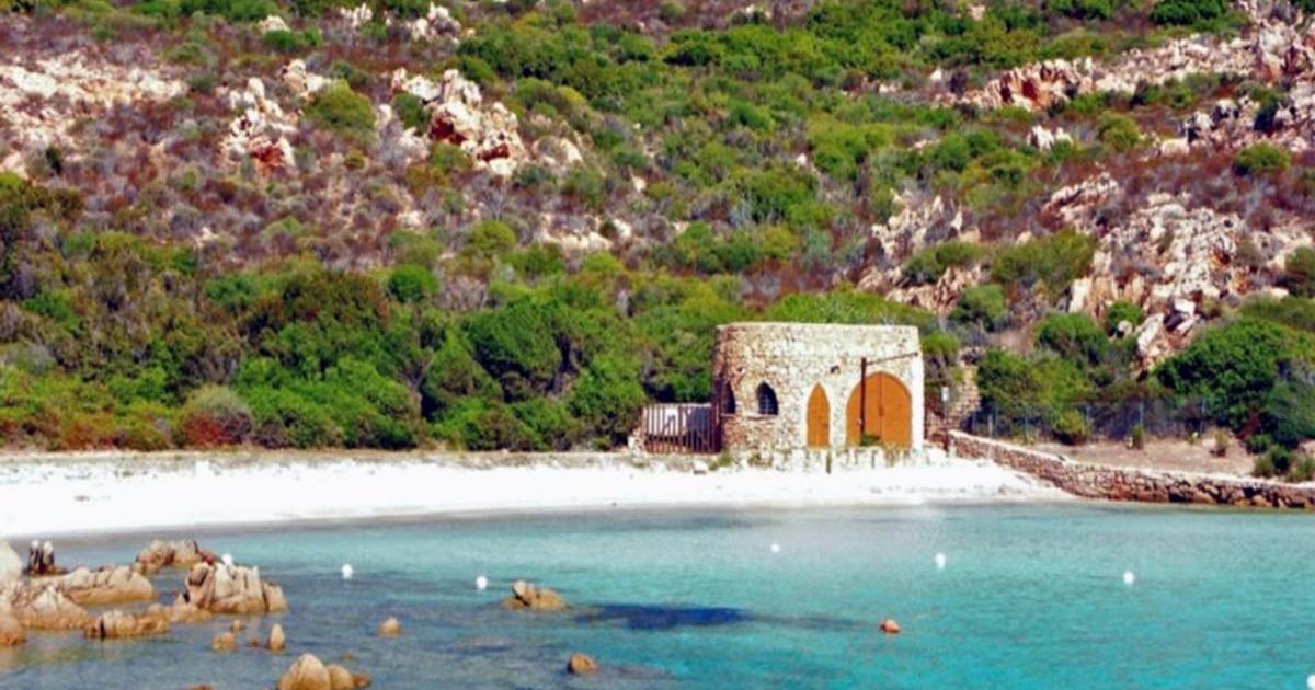 Spiaggia del dottore costruzione